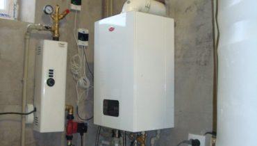 Монтаж котла автономного отопления